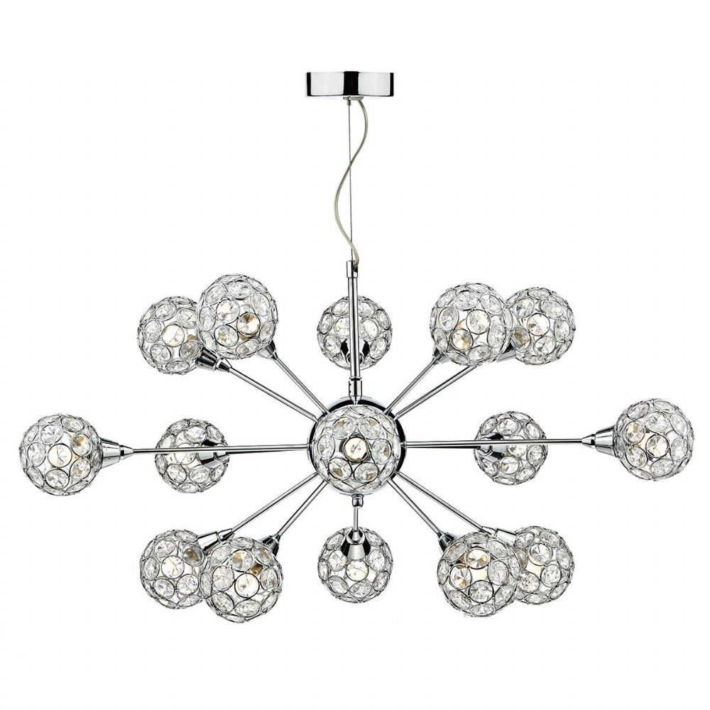 Toga 15 Light Pendant Polished Chrome TOG1550
